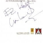 Cserhalmi György autogram kártyája